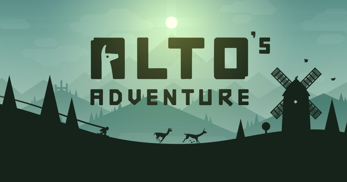 Alto's Adventure - an endless snowboarding odyssey, out now for iOS, Android & Kindle Fire